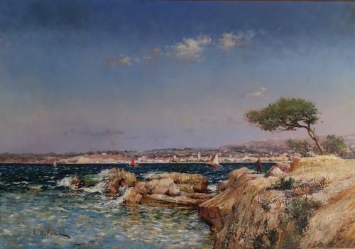 Louis Nattero, Mediterranean Marseille 1870-1915.  - Paintings & Drawings Style