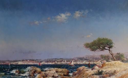 Paintings & Drawings  - Louis Nattero, Mediterranean Marseille 1870-1915.