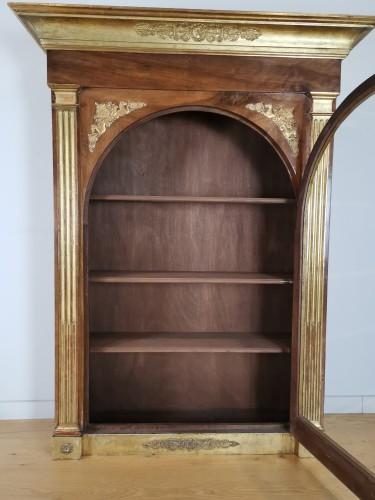 A Louis XVI giltwood showcase (vitrine) late -