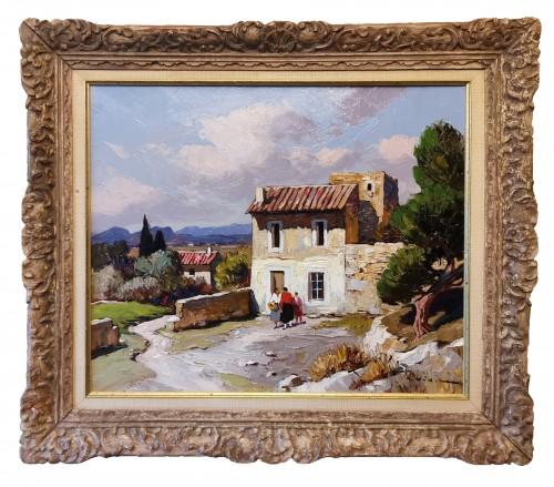 Gustave Vidal (1895-1966) - Provençal Landscape