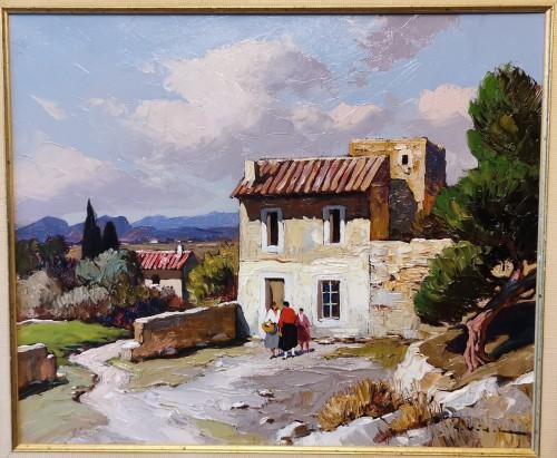 Gustave Vidal (1895-1966) - Provençal Landscape - Paintings & Drawings Style Art Déco