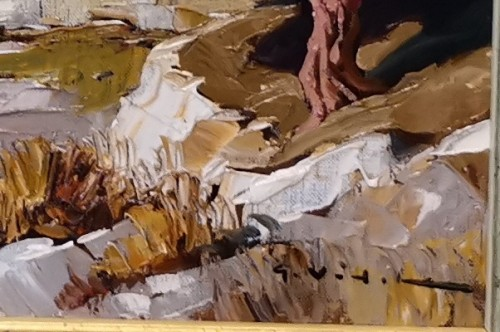 Paintings & Drawings  - Gustave Vidal (1895-1966) - Provençal Landscape