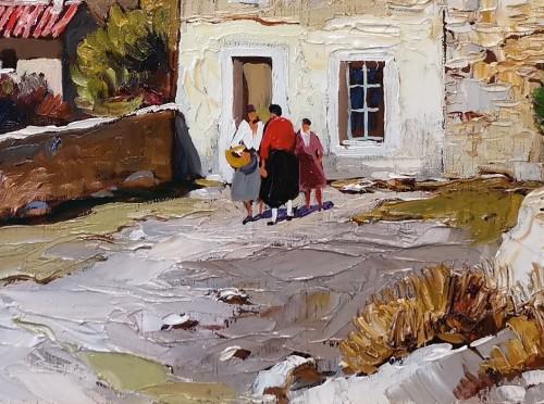 Gustave Vidal (1895-1966) - Provençal Landscape -