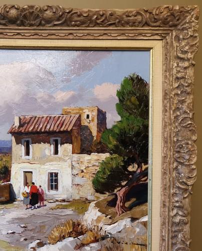 Gustave Vidal (1895-1966) - Provençal Landscape - Art Déco