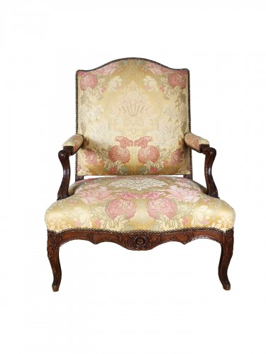 A Régence armchair early 18th century circa 1720