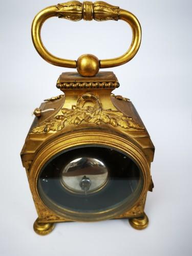 18th century - A Louis XVI ormoulu officer's clocks lat-18th circa 1780.