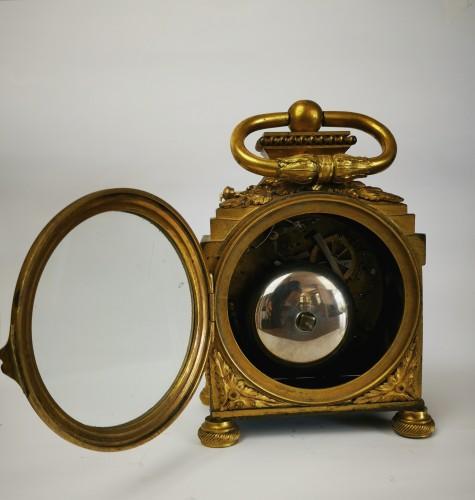 A Louis XVI ormoulu officer's clocks lat-18th circa 1780. - Louis XVI