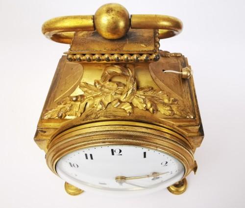 Antiquités - A Louis XVI ormoulu officer's clocks lat-18th circa 1780.