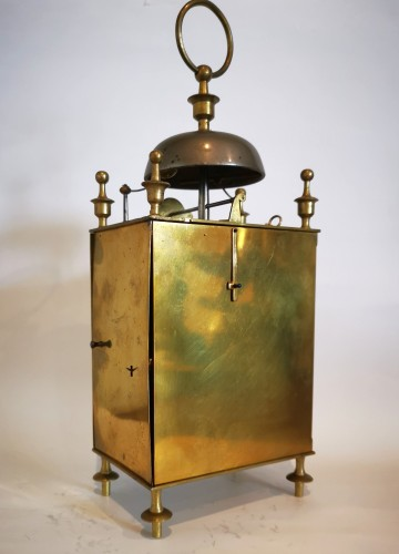 A Empire Officer's travel clock Called Capucine early 19th  circa 1800 - Empire