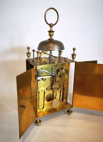 Empire - A Empire Officer's travel clock Called Capucine early 19th  circa 1800