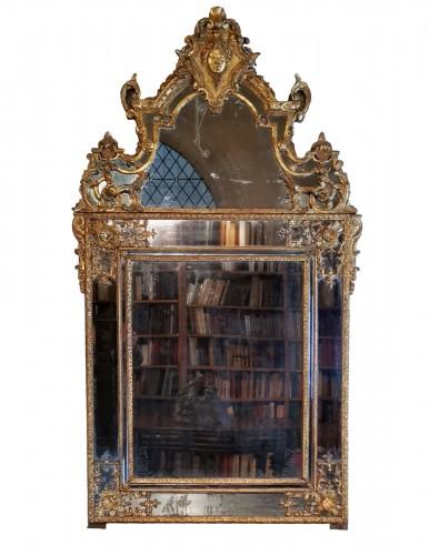A Regence mirror, early 18th century
