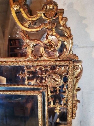 18th century - A Regence mirror, early 18th century