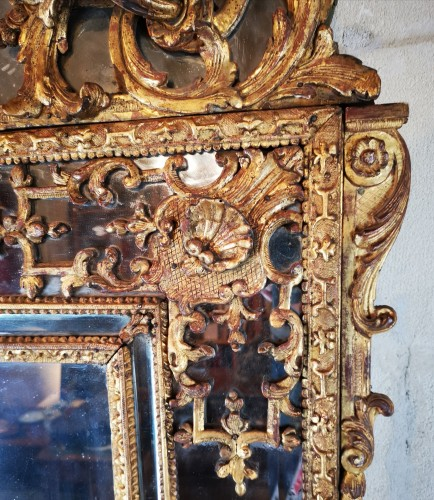 A Regence mirror, early 18th century - French Regence