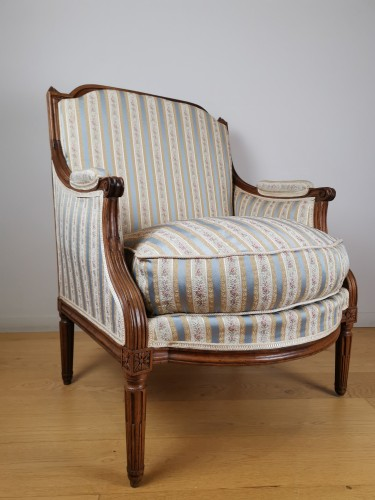 A Louis XVI Marquise stamped Jacques Cheneaux - Seating Style Louis XVI