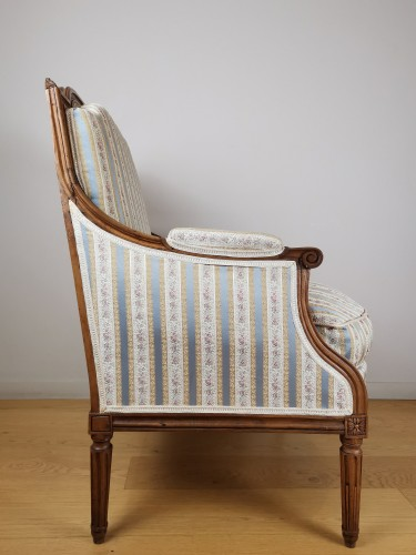 Seating  - A Louis XVI Marquise stamped Jacques Cheneaux