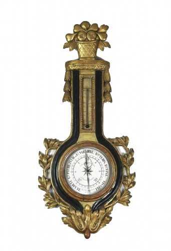 arometer-thermometer of the Louis XVI period
