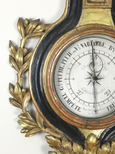 arometer-thermometer of the Louis XVI period  -