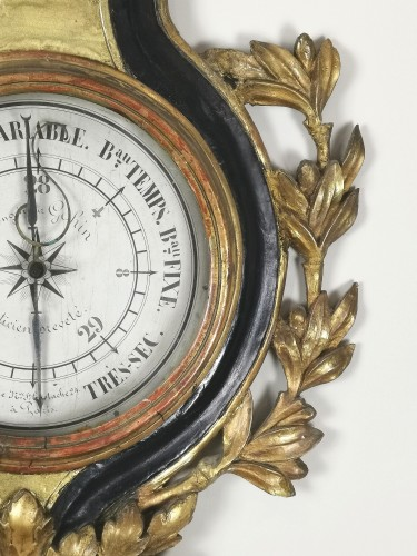 arometer-thermometer of the Louis XVI period  - Louis XVI