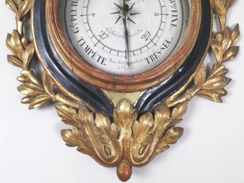 Louis XVI - arometer-thermometer of the Louis XVI period