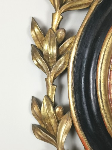 Antiquités - arometer-thermometer of the Louis XVI period