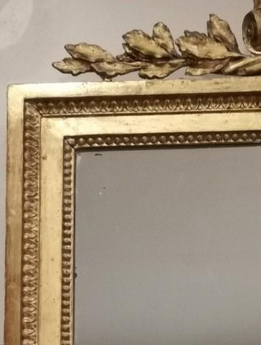 18th century - A giltwood mirror irca 1780