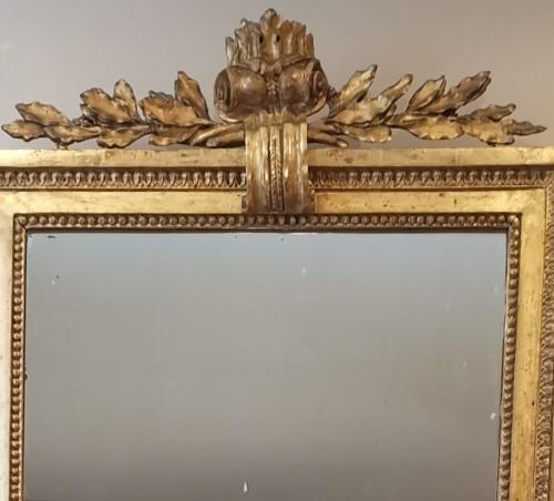 A giltwood mirror irca 1780 - Louis XVI