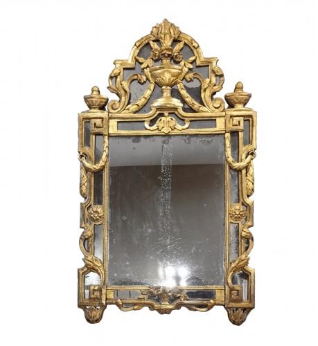 A Giltwood Louis XVI mirror