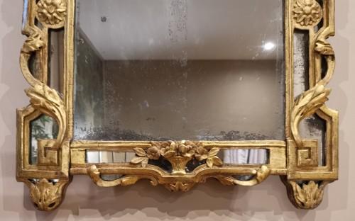 Mirrors, Trumeau  - A Giltwood Louis XVI mirror
