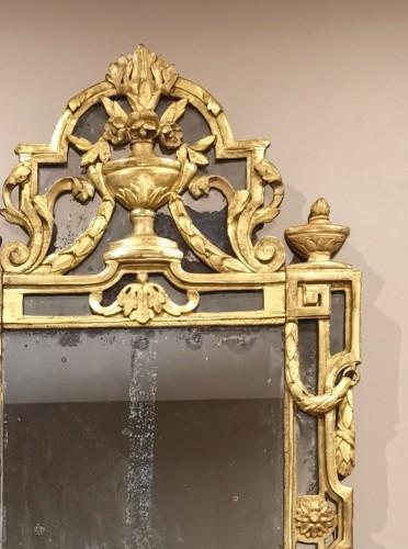 Antiquités - A Giltwood Louis XVI mirror