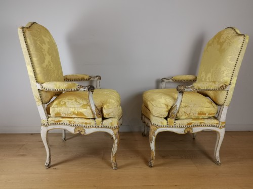A Regence armchairs from the armchairs from the Comtat Venaissin - Seating Style French Regence