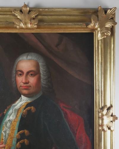Don Franco Billo-tta - Portrait of a noble magistrate Pavesan Lombardy 18th -