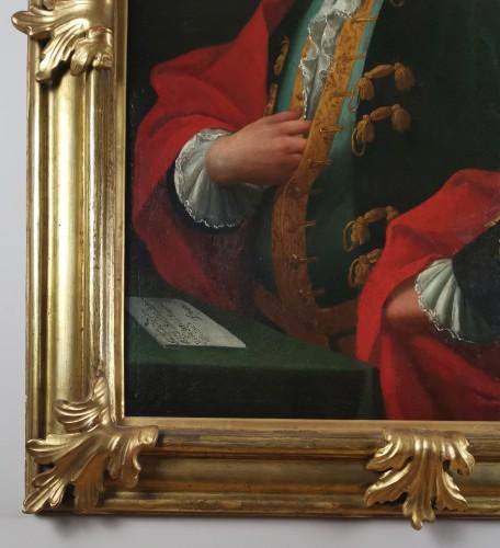 18th century - Don Franco Billo-tta - Portrait of a noble magistrate Pavesan Lombardy 18th