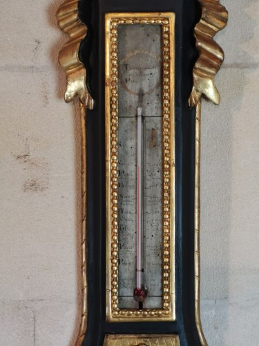 Decorative Objects  - A Neoclassical barometer from the Louis XVI period