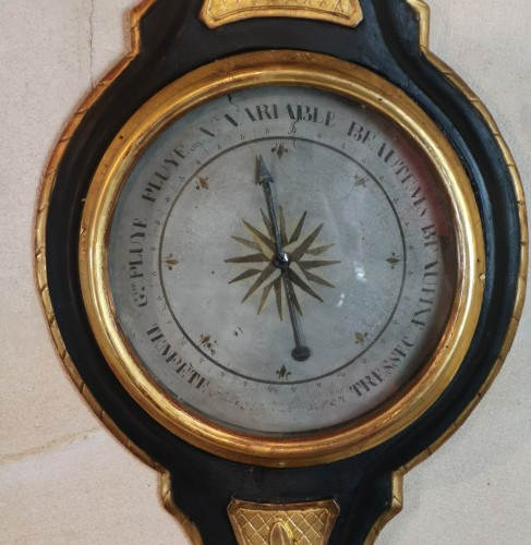 A Neoclassical barometer from the Louis XVI period - Louis XVI