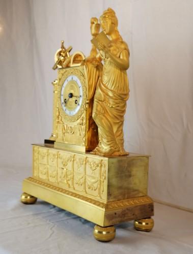 A Empire ormolu Clock - Scientific Objects. Early 19th Circa 1805  - Empire