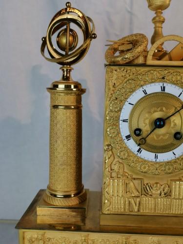Empire - A Empire ormolu Clock - Scientific Objects. Early 19th Circa 1805
