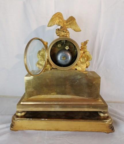 A Empire ormolu skeleton clock-  Early 19th Circa 1805 -