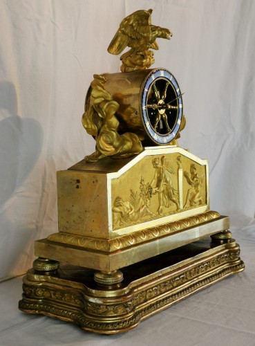 19th century - A Empire ormolu skeleton clock-  Early 19th Circa 1805