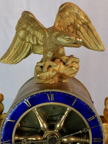A Empire ormolu skeleton clock-  Early 19th Circa 1805 - Empire