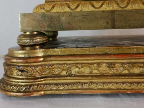 Antiquités - A Empire ormolu skeleton clock-  Early 19th Circa 1805