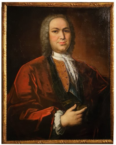 Portrait of Petrus Dupin, magistrate and consular quaestor by de Angeli En 1739.