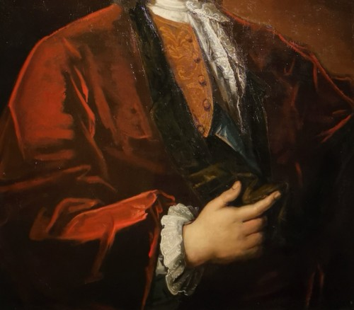 Portrait of Petrus Dupin, magistrate and consular quaestor by de Angeli En 1739. -