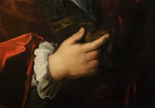 18th century - Portrait of Petrus Dupin, magistrate and consular quaestor by de Angeli En 1739.
