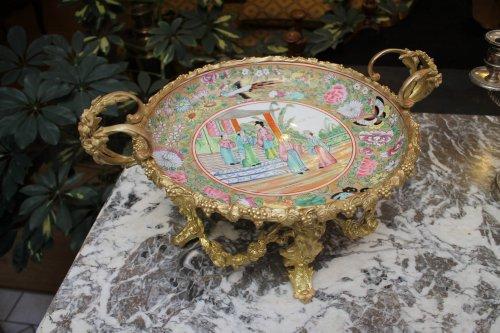 Canton porcelain bowl 19th century