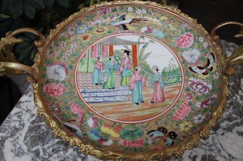 Canton porcelain bowl 19th century - Porcelain & Faience Style