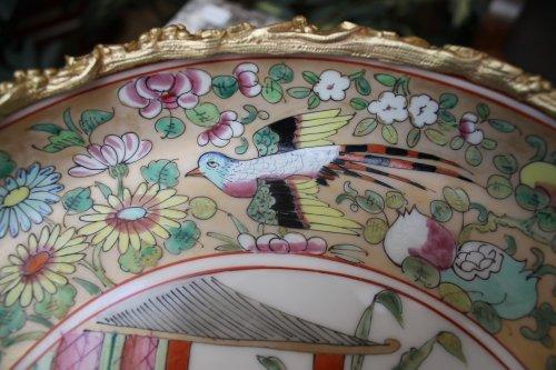 Porcelain & Faience  - Canton porcelain bowl 19th century