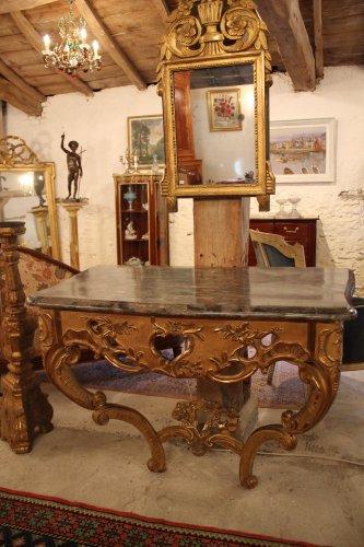 A Louis XV giltwood console - Louis XV