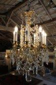 XIXth century Crystal chandelier