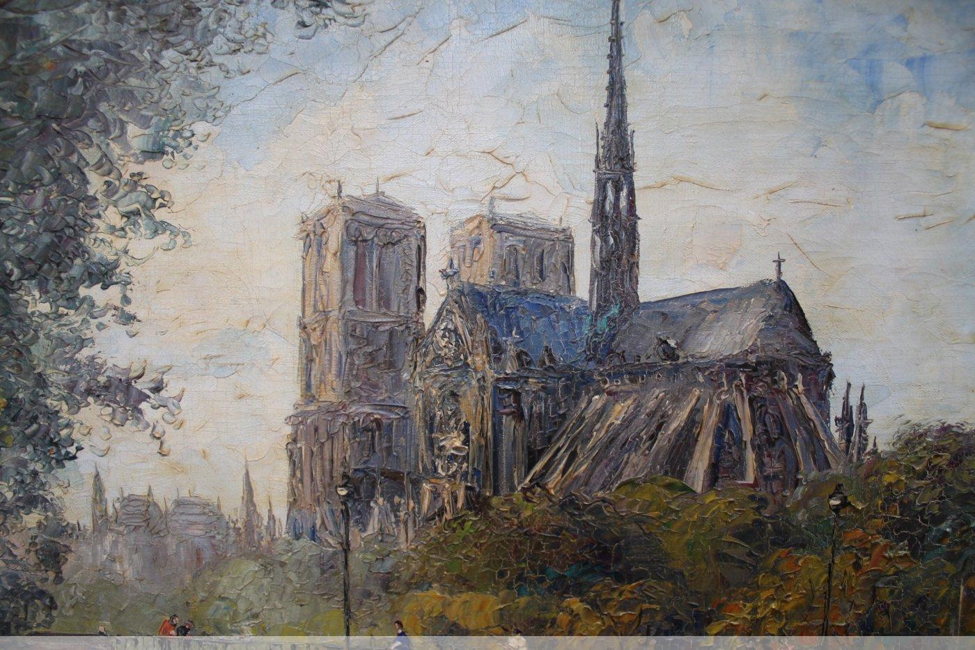 Peinture de Georges GUERIN - XXe siècle - N.40722