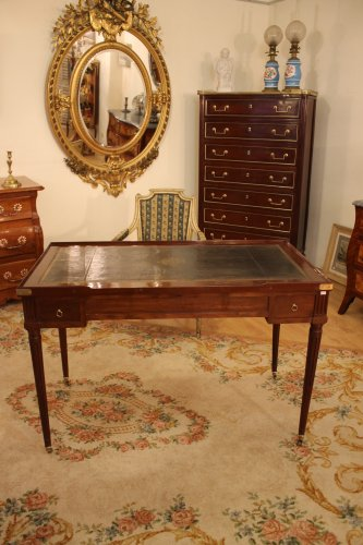 Table tric trac Louis XVI en acajou